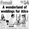A wonderland of weddings for Alice
