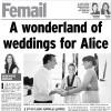 A wonderland of weddings forAlice